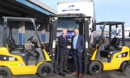 Forklift truck specialist reaches new business milestone