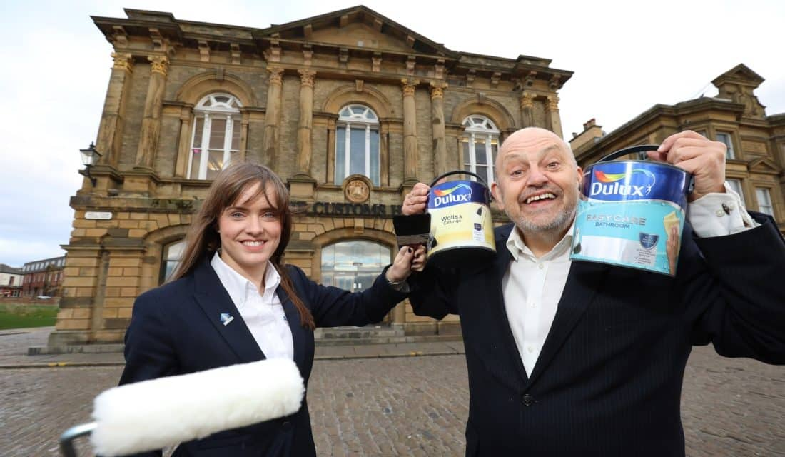 No drama for South Shields Theatre company's refurbishment after paint donation