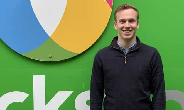 Durham graduate clinches national award for innovation with global marketing technology specialist Clicksco
