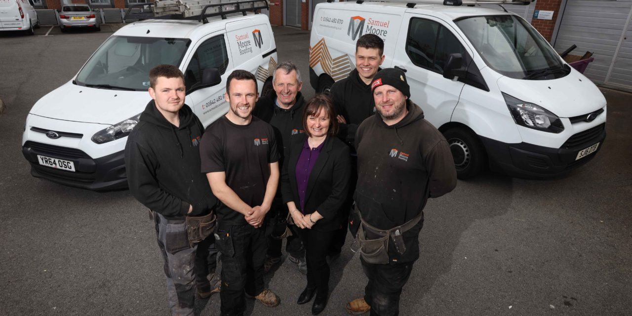 Tees roofing business climbs higher