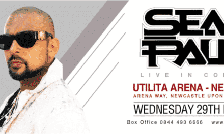 SEAN PAUL ANNOUNCES SET OF UK DATES  UTILITA ARENA NEWCASTLE WEDNESDAY 29TH MAY 2019