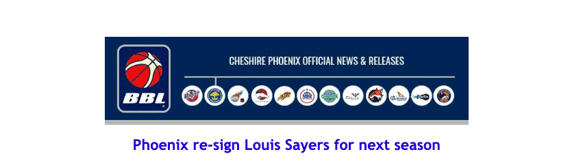 Phoenix re-sign Louis Sayers for next season