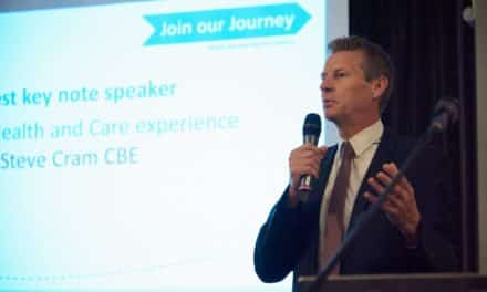 Steve Cram unveiled as ambassador of Great North Care Record