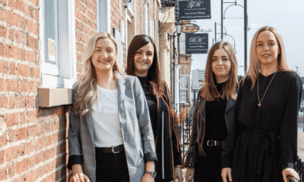 Stockton PR and design agency adds to the team and launches a rebrand to mark its fifth year in business