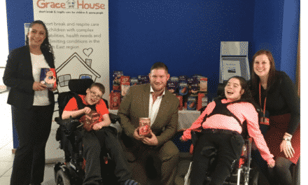 Eco Logic Partners organise egg-stra special surprise for Grace House!