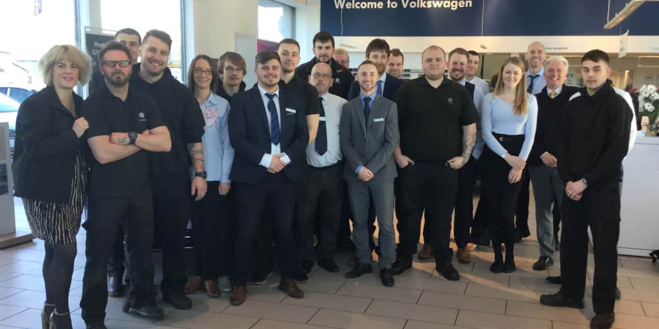 Lookers Volkswagen Northallerton the best in the business when it comes to looking after its customers