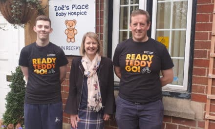 Tees firm targets £5,000 from charity cycling challenge