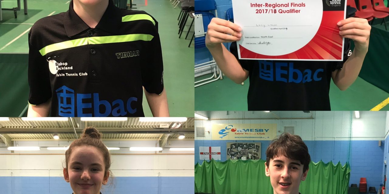 Strong Sibling showing at Inter Regional Qualifiers