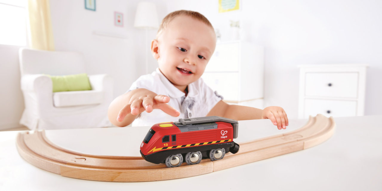 Taking Train Play To New Heights!