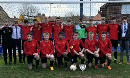 Richmond Sixth Form footballers claim coveted County Cup