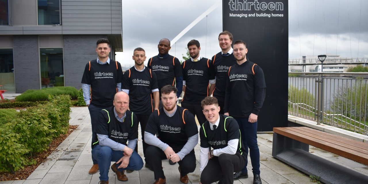 PARTNERS MEET FOR CHARITY FOOTBALL MATCH