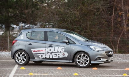On the road to safer driving – driving lessons for 10-17s launch at Dalton Park near Durham