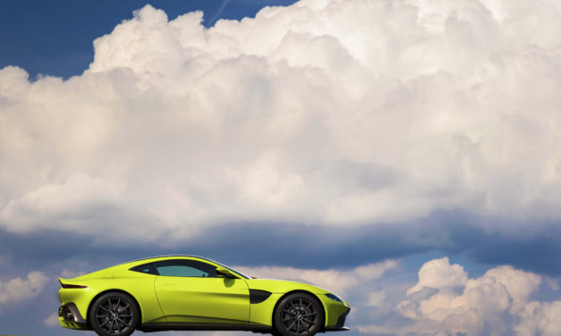 Vantage reflects new  direction of travel for Aston Martin