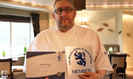 ROCKLIFFE HALL EXECUTIVE CHEF BECOMES MASTER CHEF OF GREAT BRITAIN
