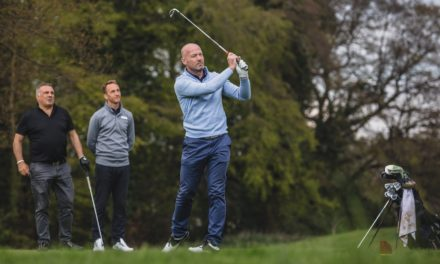 GOLF DAY RAISES £4620 FOR INJURED JOCKEYS FUND