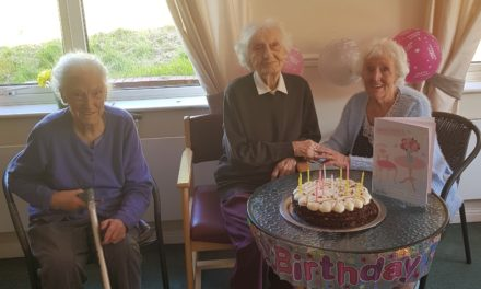 Surprise 102nd birthday party of Peterlee resident Louise