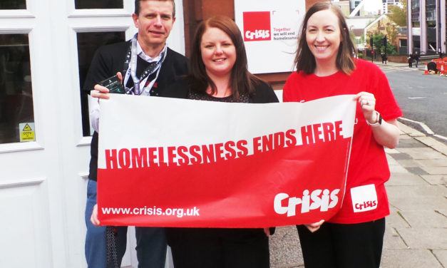 Building on our social values by supporting Crisis Skylight Newcastle