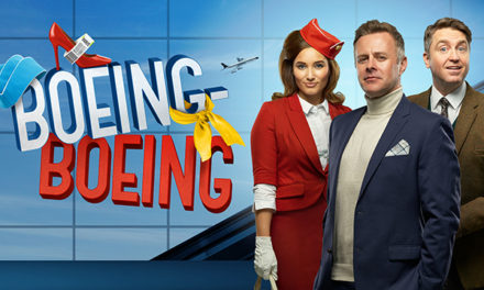 HIGH FLYING COMEDY ON SALE NOW AT DARLINGTON HIPPODROME