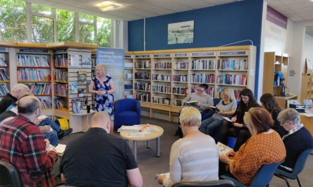 South Shields Library Visitors Become 'Dementia Friends' At Newcastle Building Society Awareness Session