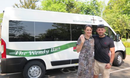 'Wendy Bus' Wows Hospice Guests