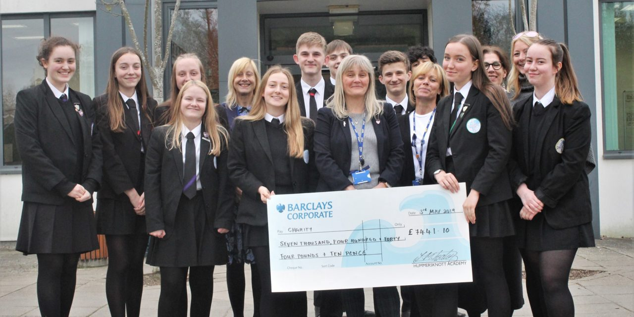 North-East school students raise £7,441 for charities