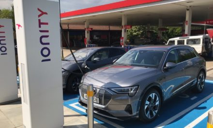 FIRST IONITY HIGH POWER CHARGING STATION LAUNCHED IN UK