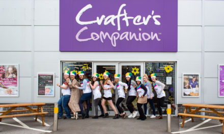 Crafter's Companion's rookie runners raise money for Rainbow Trust Children's Charity