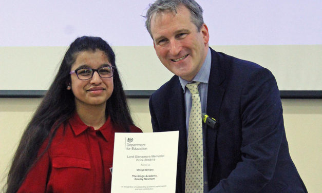 Students receives national recognition for her achievements