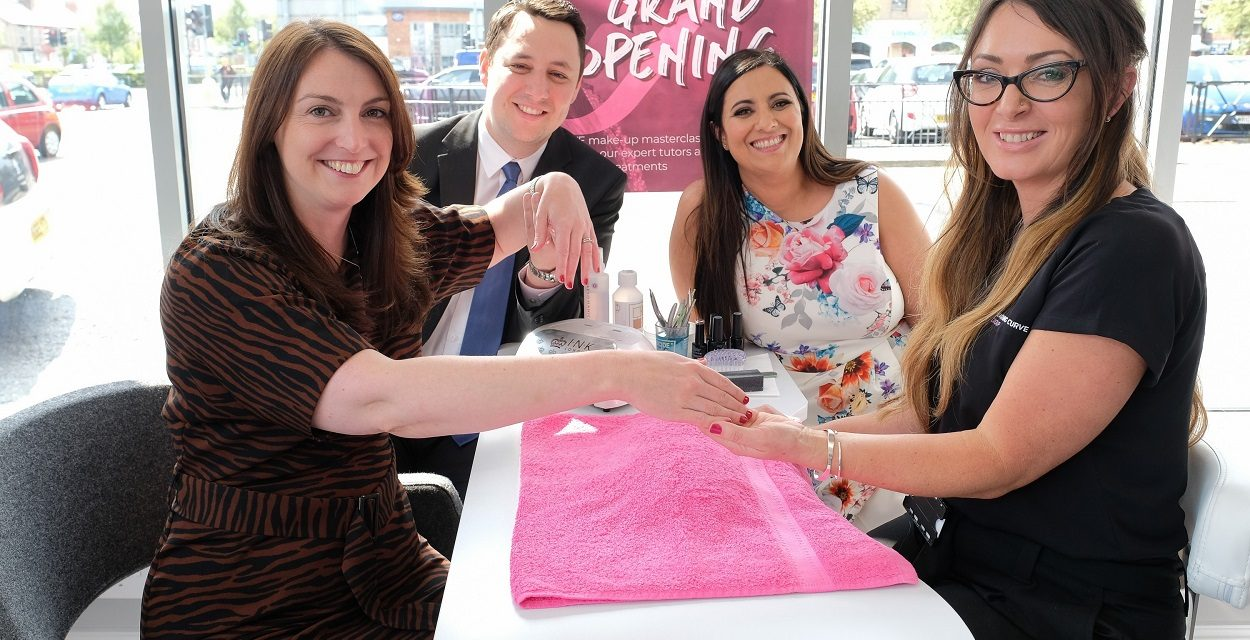 Learning Curve Group launches new Beauty Academy in Hartlepool