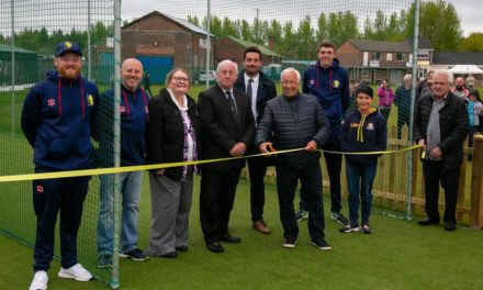 Net Gain For Leadgate Cricketers As New Practice Facilities Open