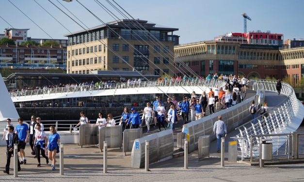Ward Hadaway team steps up to the challenge of Newcastle Legal Walk