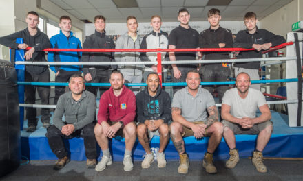 Marden Boxing Club Undergoes Refurbishment Thanks To Volunteering Project