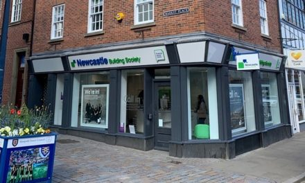 Charity Head Hayley To Officially Reopen Upgraded Newcastle Building Society Morpeth Branch