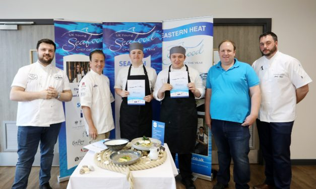 Newcastle College students net a place in the UK Young Seafood Chef of the Year 2019 final