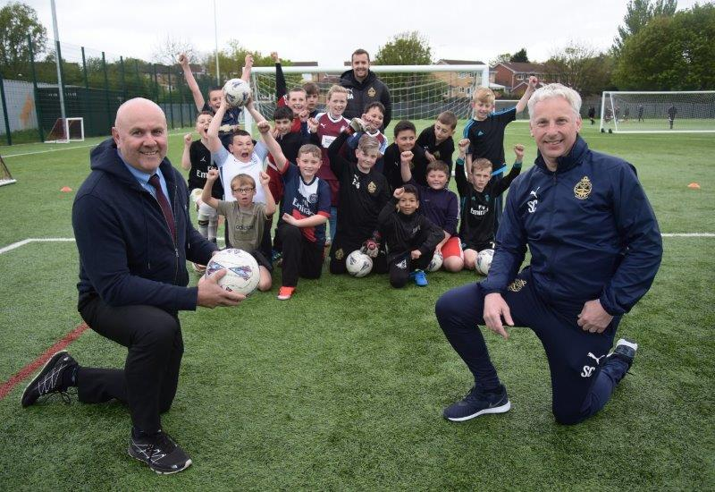 SOUTH SHIELDS FOOTBALL CLUB FOUNDATION HEALTH AND WELLBEING PROGRAMME RECEIVES MAJOR BOOST FROM PORT OF TYNE
