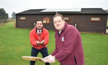 Sun Shining On Rockliffe Park Cricketers Thanks To Banks Group Grant