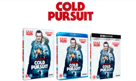 COLD PURSUIT AVAILABLE DIGITALLY 17 JUNE AND ON 4K, BLU-RAY, DVD & STEELBOOK 24 JUNE