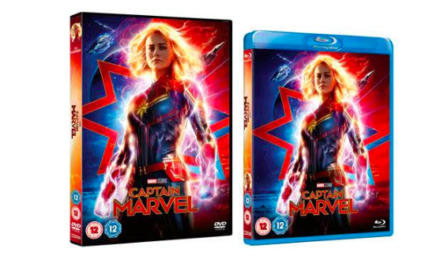 CAPTAIN MARVEL – ON BLU-RAY, 3D BLU-RAY, DVD & 4K ULTRA HD – 15th JULY