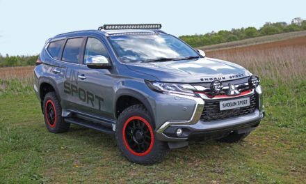 MITSUBISHI SHOGUN SPORT SVP CONCEPT DEBUTS AT 2019 COMMERCIAL VEHICLE SHOW