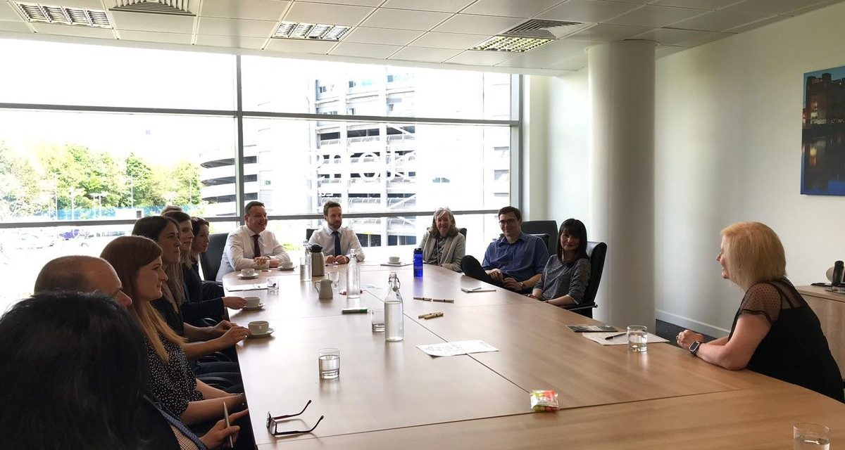Newcastle Building Society Partners With Sintons For 'Dementia Friends' Awareness Session