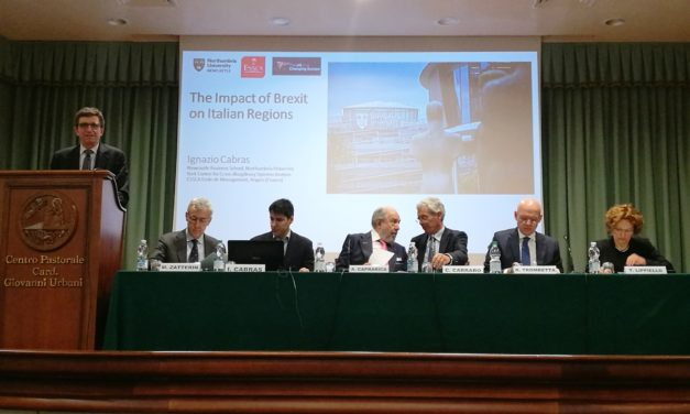Northumbria University researcher invited to discuss the impact of Brexit on the Italian economy