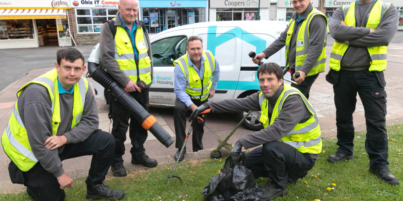 Beyond Housing helps to 'grow' confidence and Streetscene team