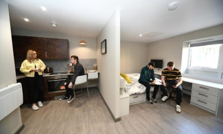 New five star student accommodation in Newcastle
