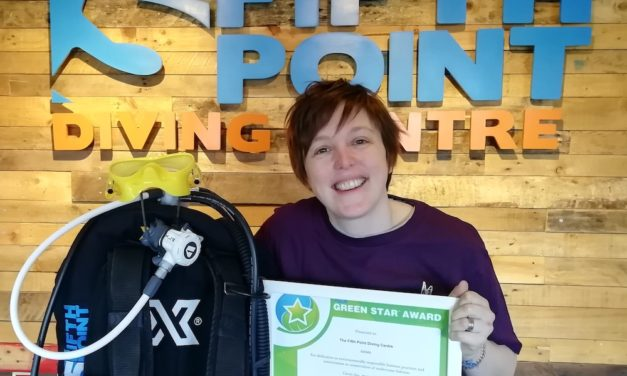 The Fifth Point Diving Centre Wins UK's First Environmental Award