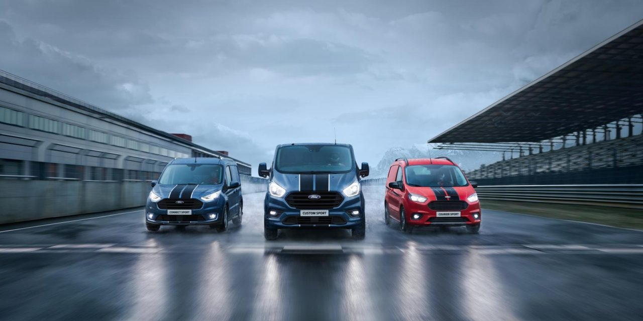 MOST POWERFUL FORD TRANSIT SPORT VAN HEADS UP DISTINCTIVE THREE MODEL LINE-UP