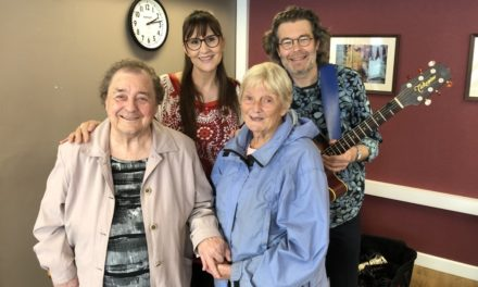 Duo's Dementia Hub performance a hit with residents