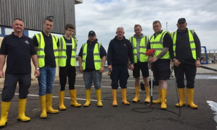 Blyth RNLI volunteers come together to do their bit to fund their kit