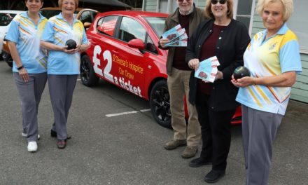 Hospice bowled over by club's support
