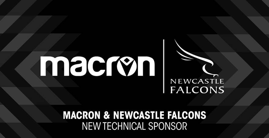 Major new partnership for Newcastle Falcons and Macron