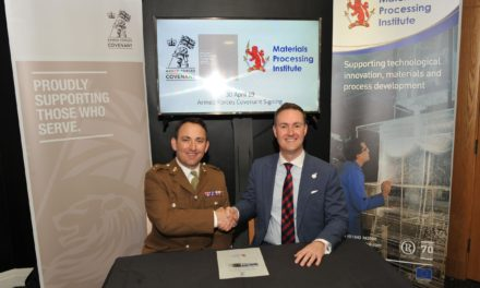 Materials Processing Institute commit to honouring the Armed Forces Covenant